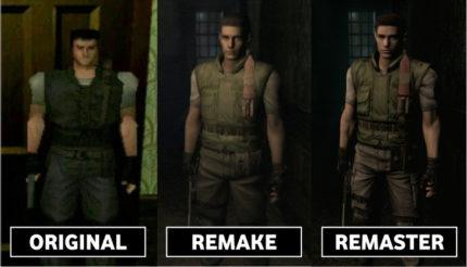 Il primo Resident Evil, differenze delle varie edizioni.