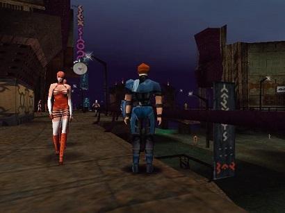 uno screen di Omikron, il titolo meno conosciuto di Quantic Dream.
