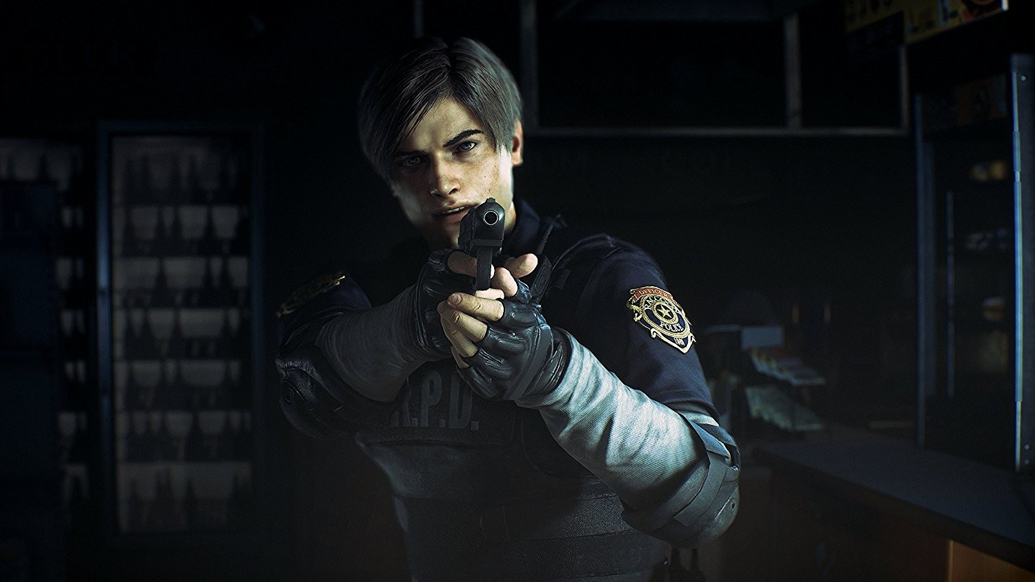Screenshot del Remake di Resident Evil 2.