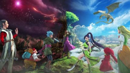 Immagine artistica di Dragon Quest XI.