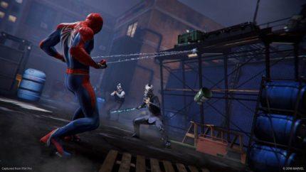 Una mossa speciale di Spider-Man.