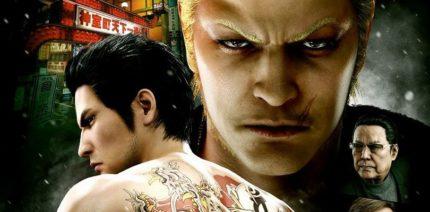 """Alcuni personaggi principali de gioco """"Yakuza""""."""