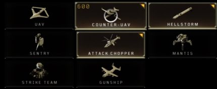 Gli Scorestreak nella beta di Call of Duty Black Ops 4.