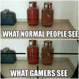 meme visione del gamer