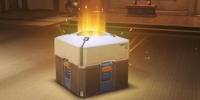 Una loot box di Overwatch