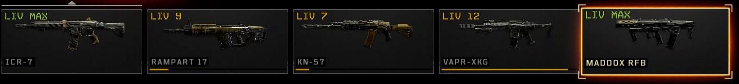 Black Ops 4 fucili d'assalto