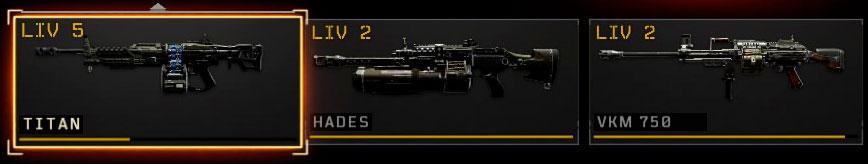 Black Ops 4 mitragliatrici leggere