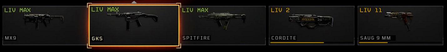 Black Ops 4 mitragliette