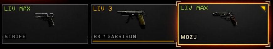 Black Ops 4 pistole