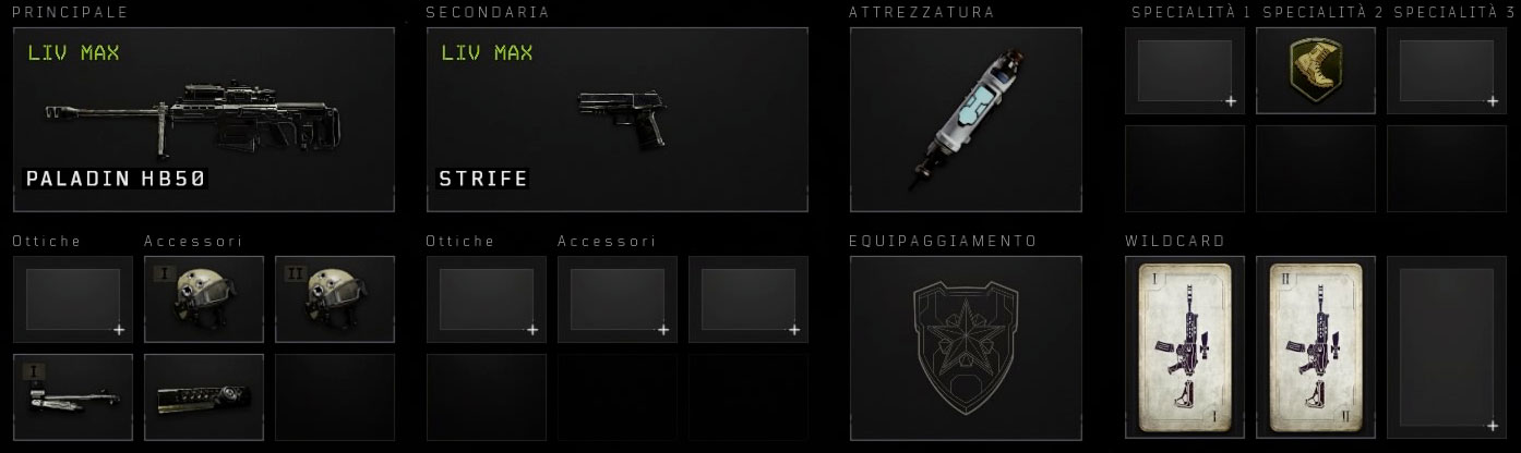 Black Ops 4 Paladin setup