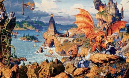 Ultima Online copertina storica.